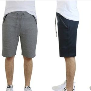 Other - NWT Men's Tech-Fleece Shorts with Zipper Pockets
